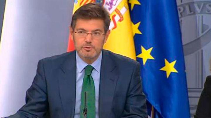 """Catalá dice que no debe ser """"ciego ni mudo"""" y sí alertar de anomalías en la Justicia"""
