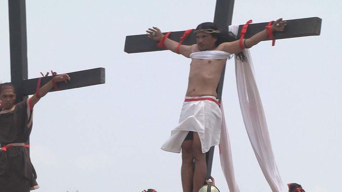 La Semana Santa extrema de Filipinas