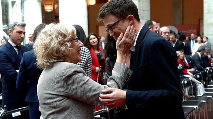 Podemos guarda silencio sobre la candidatura de Errejón con el partido de Carmena