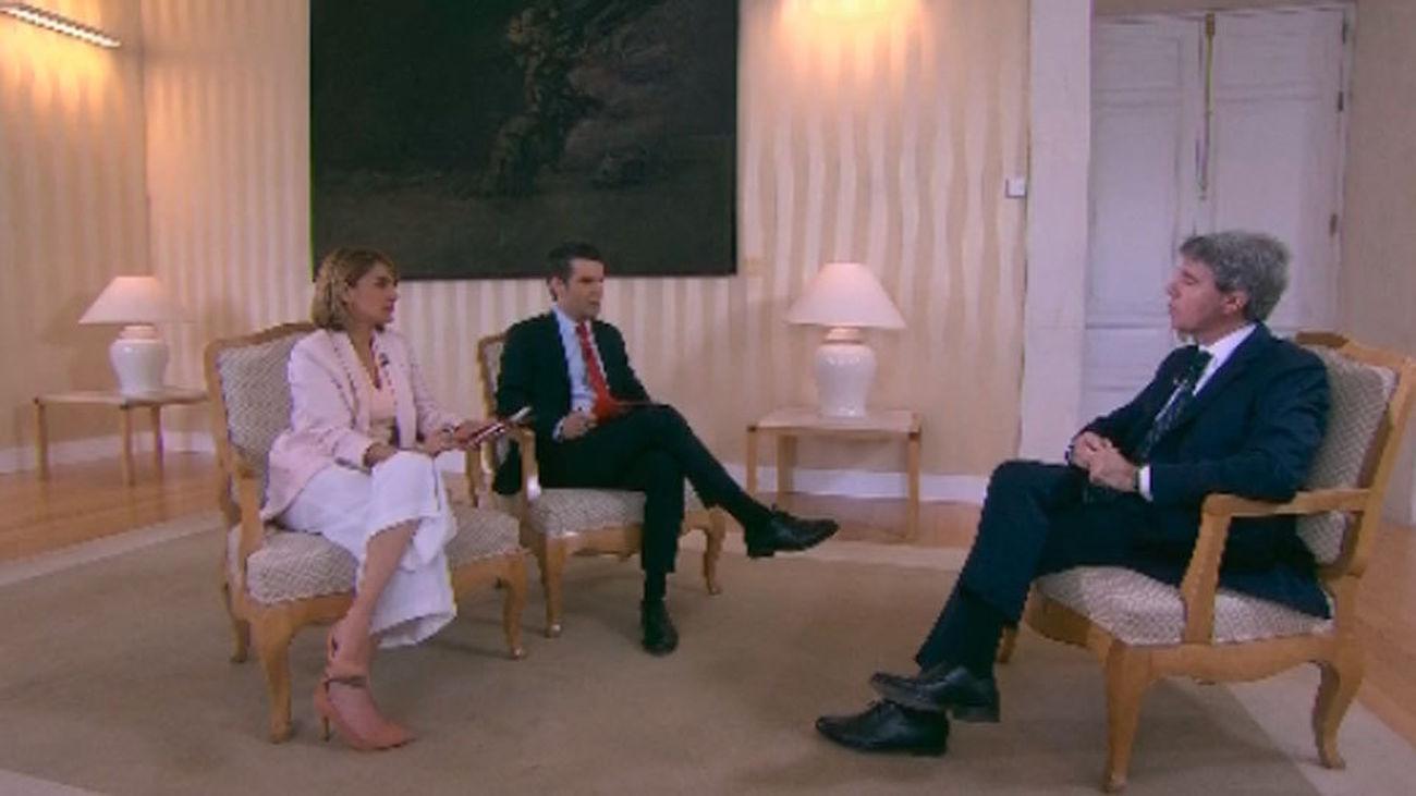 """Garrido reconoce que este Dos de Mayo ha sido un """"día amargo"""" sin Cifuentes"""