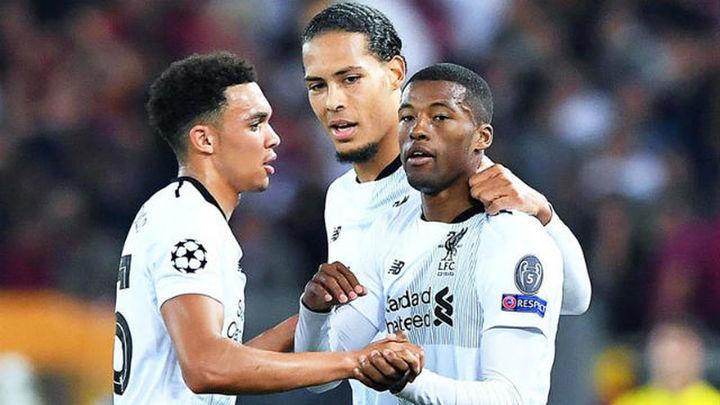4-2. El Liverpool pierde en Roma, pero estará en Kiev
