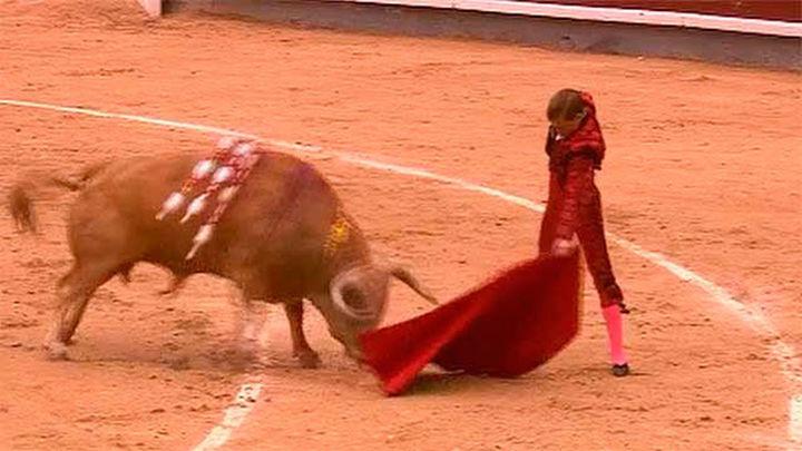 Lección épica y torera de Javier Cortés