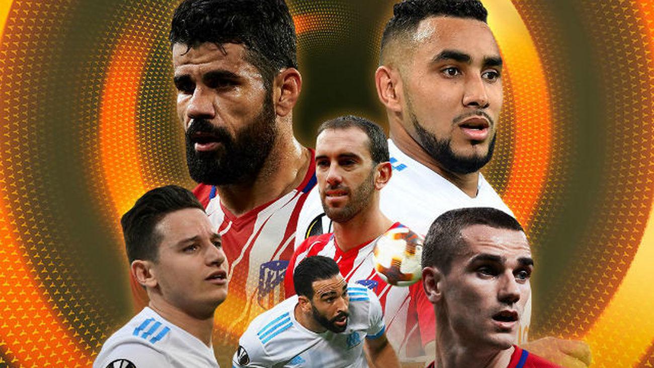 Atlético de Madrid-Marsella, final inédita