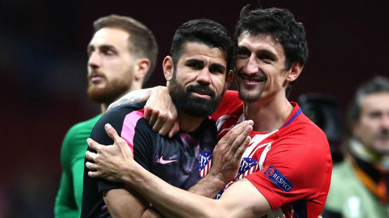 1-0. Costa impulsa al Atlético a la final de la Europa League
