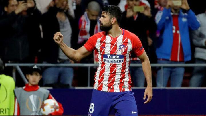 """Diego Costa: """"El Atlético es un grande y necesita jugar finales"""""""