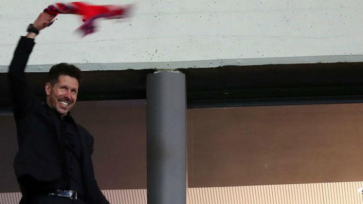 """Simeone: """"El llegar a la final es el fruto de un gran trabajo"""""""