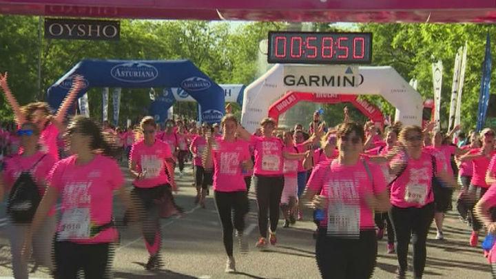 Más de 36.000 corredoras participarán en la marea rosa de este domingo