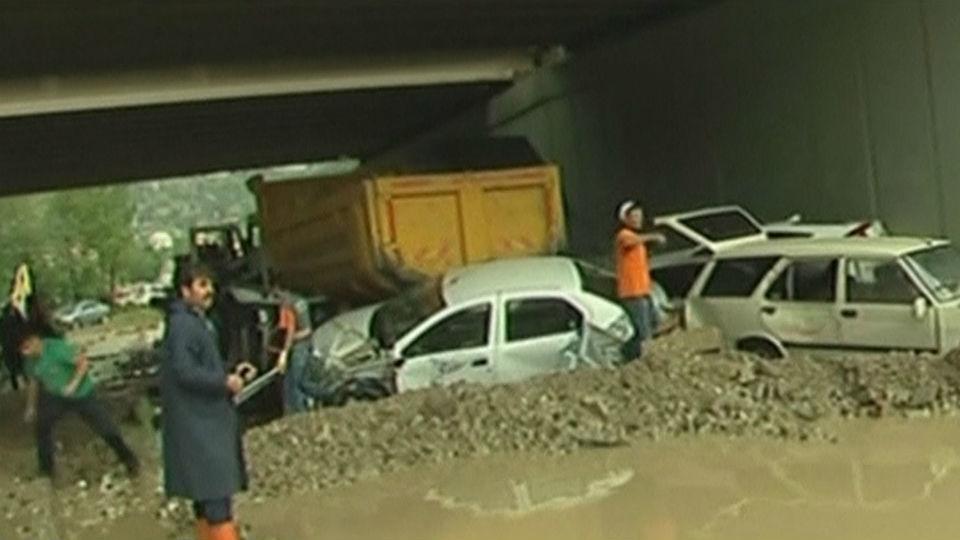 Seis heridos por las inundaciones en Ankara