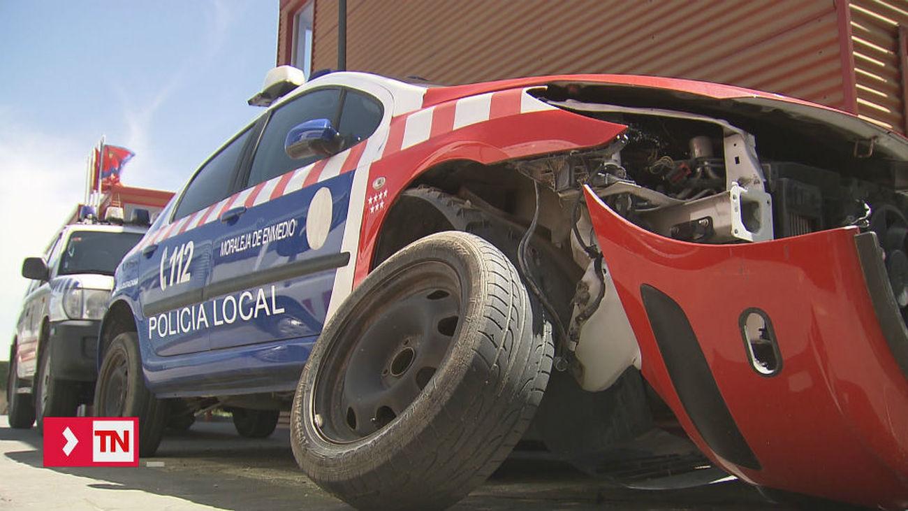 Getafe cede cuatro coches patrulla a Moraleja de Enmedio