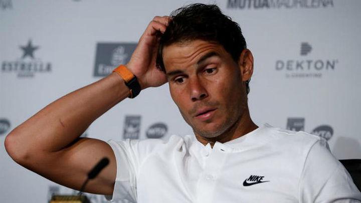 "Nadal ante el Mutua Madrid Open: ""Favorito, cero"""