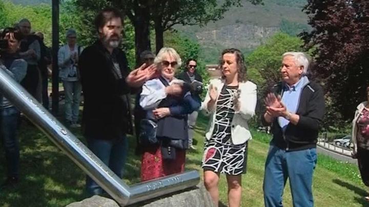 Homenaje en Andoain a López de Lacalle asesinado por ETA hace 18 años