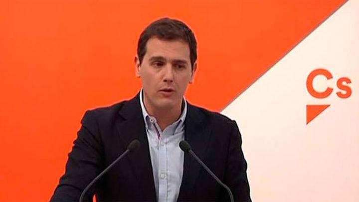 Rivera: Ciudadanos apoyará la investidura de Garrido en Madrid