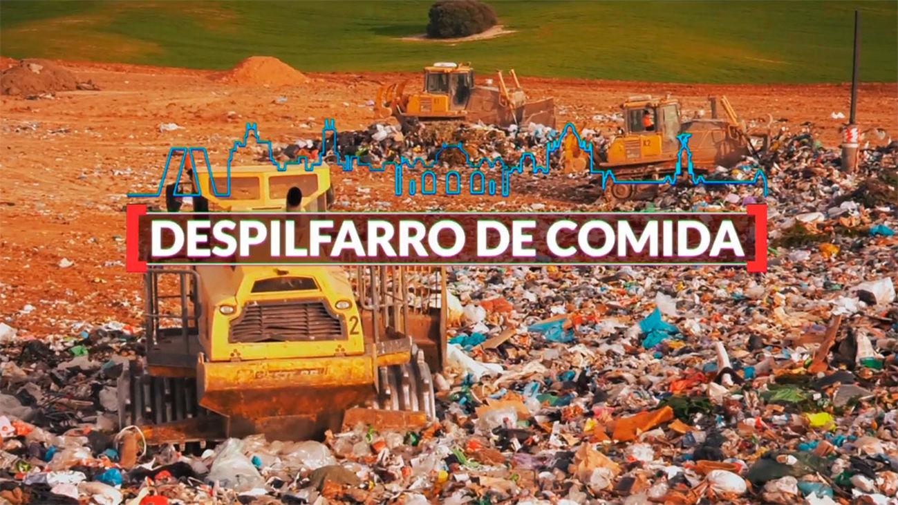 Madrid es cifra: despilfarro de comida