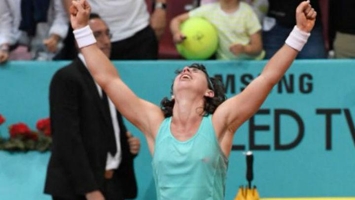Mutua Madrid Open: Carla Suárez y Muguruza, a octavos