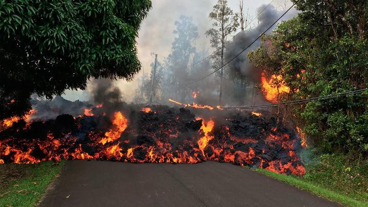 Más 26 hogares destruidos en Hawai por la erupción del volcán Kilauea