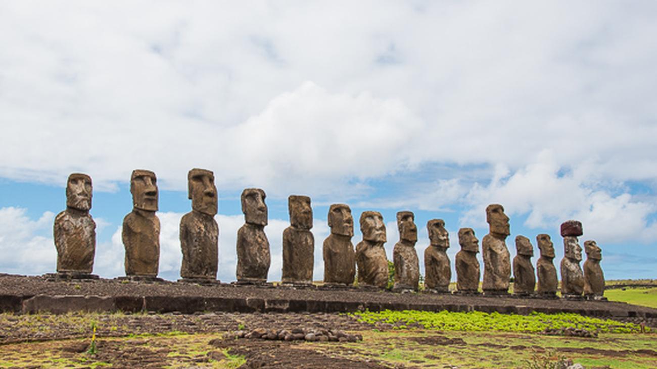 Isla de Pascua y el misterio de los moái