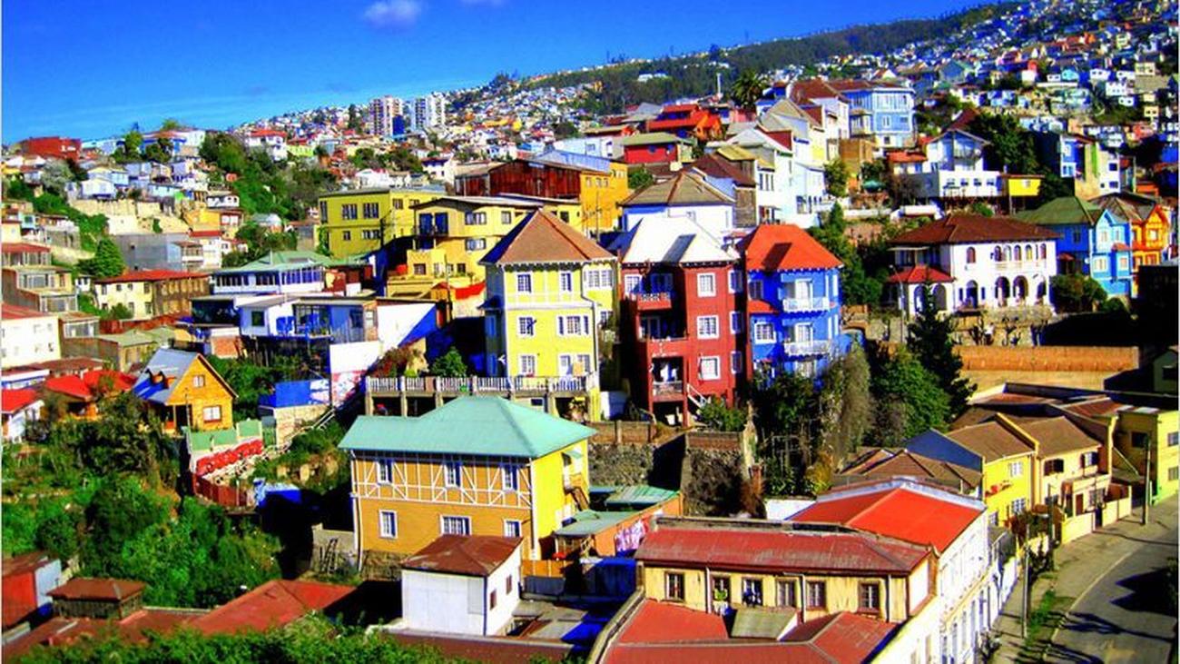 Valparaíso, una ciudad multicolor abierta al Pacífico