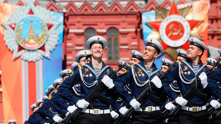 Putin preside el tradicional desfile de la Victoria sobre la Alemania nazi