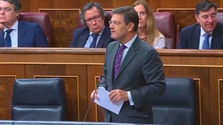 Catalá aboga por reformar los delitos sexuales tras la sentencia de 'la manada'