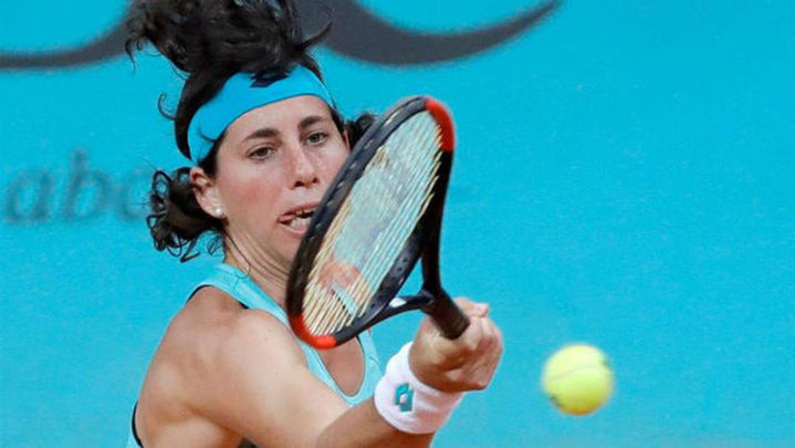 Mutua Madrid Open: Carla Suárez se hunde
