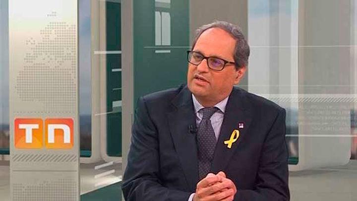 """Quim Torra anuncia que impulsará un """"proceso constituyente"""" en Cataluña"""