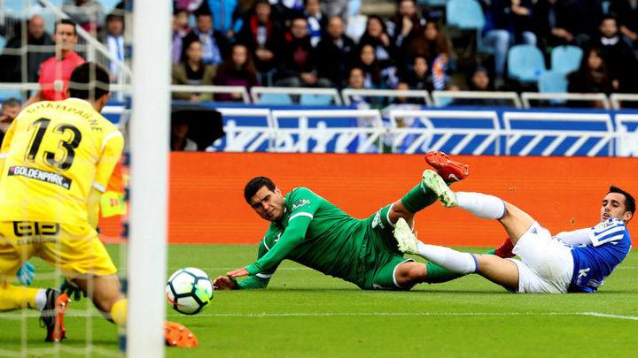 3-2. El Leganés hinca la rodilla en Anoeta