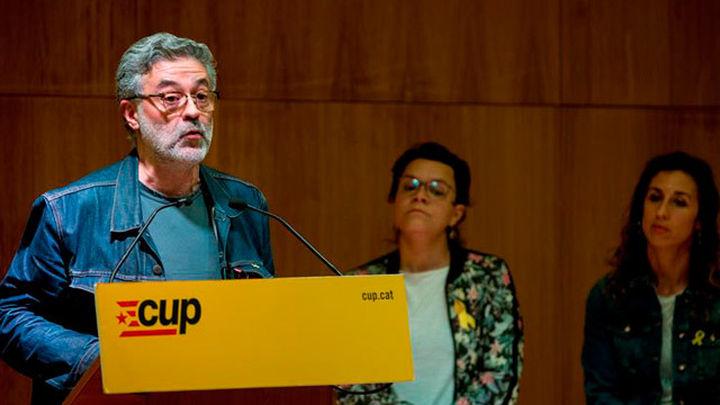 La CUP plantea a la militancia dos preguntas para decidir si apoya a Torra
