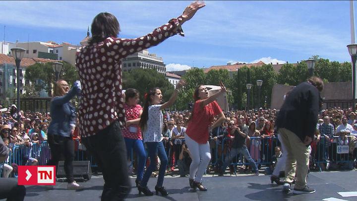 Flamenco Madrid 2018 bate de nuevo el récord del mayor número de personas bailando a la vez