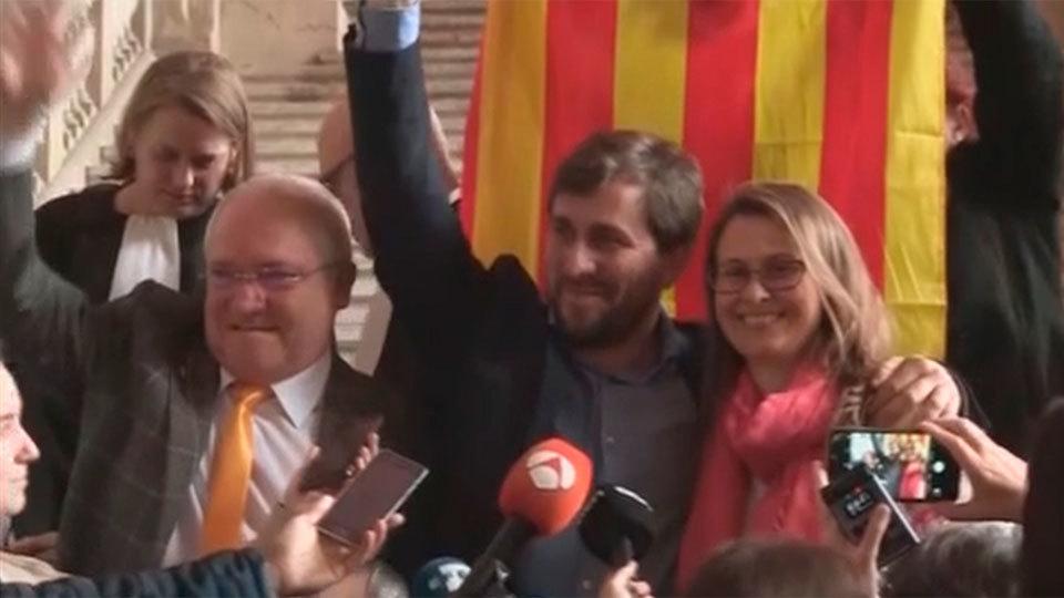 """La Justicia belga rechaza la entrega de exconsejeros catalanes por errores """"de forma"""""""