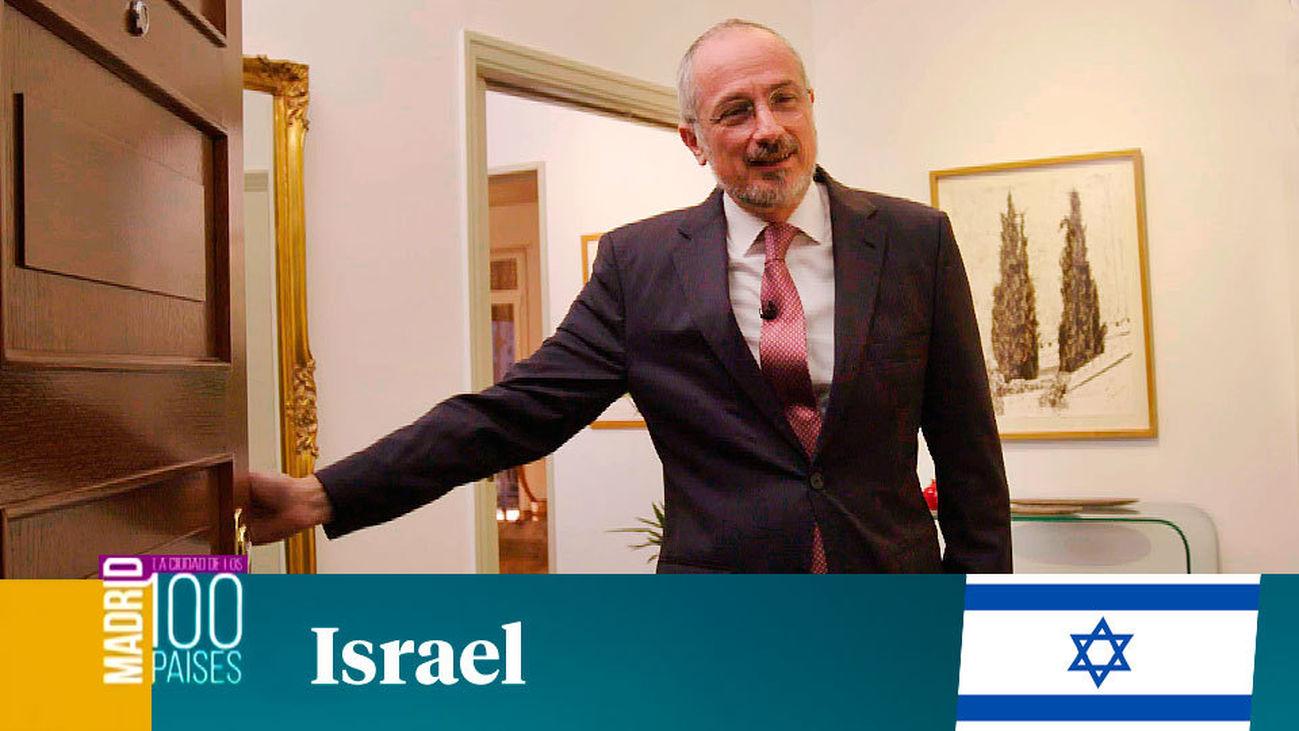Madrid ciudad de 100 paises: Israel