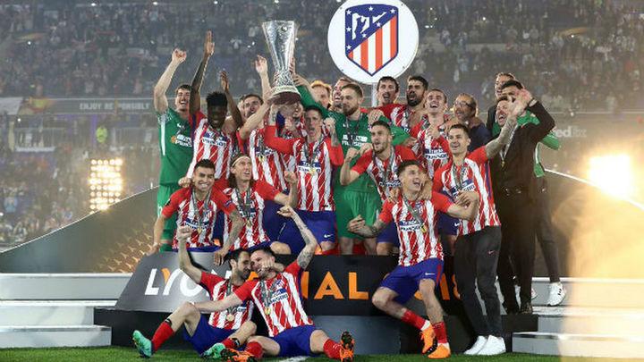 0-3. El Atlético, campeón a lo grande de la Europa League