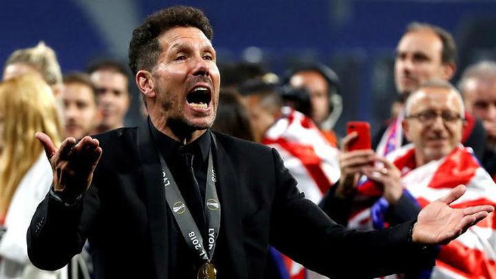 """Simeone: """"No es sólo la Liga Europa, es mucho más grande"""""""
