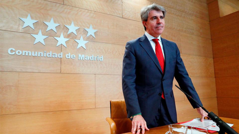Garrido afronta hoy el pleno de investidura como sucesor de Cifuentes