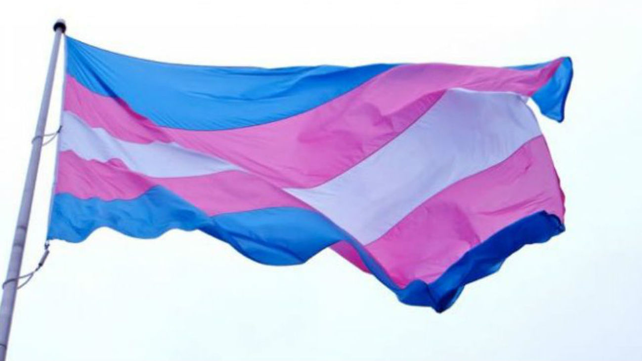 La bandera trans