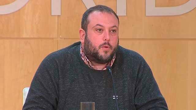 El concejal del distrito de Villaverde, Guillermo Zapata