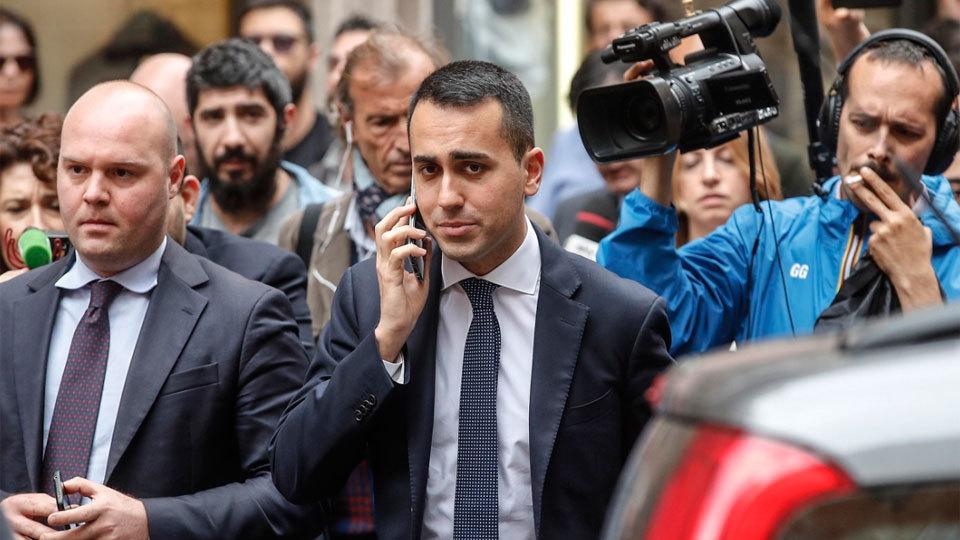 El Movimiento 5 Estrellas y la Liga acuerdan un pacto de Gobierno en Italia