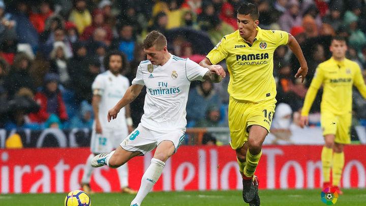 El Real Madrid se prueba ante el Villareal de cara a Kiev
