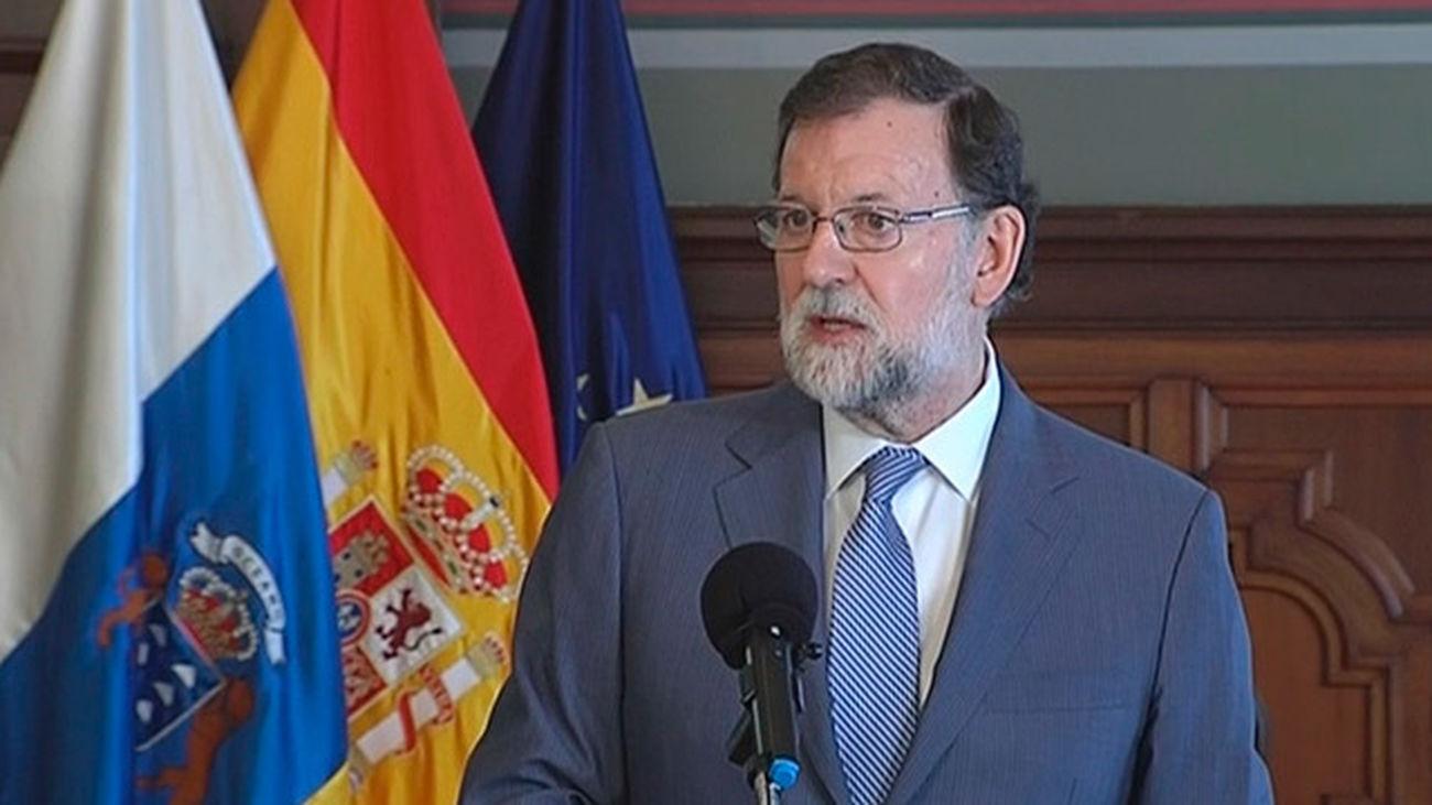 Rajoy firma con Nueva Canarias  su respaldo a los Presupuestos