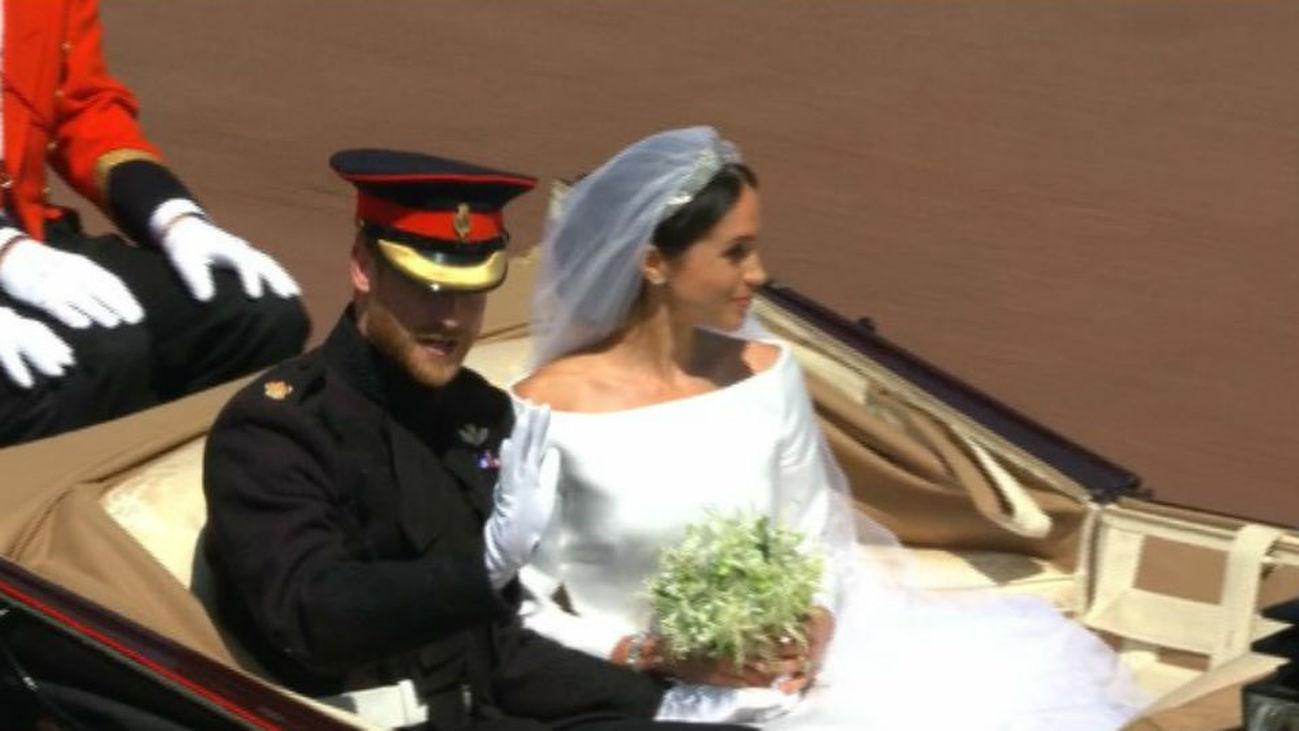 Los mejores momentos de la Boda Real entre el Príncipe Harry y Meghan Markle