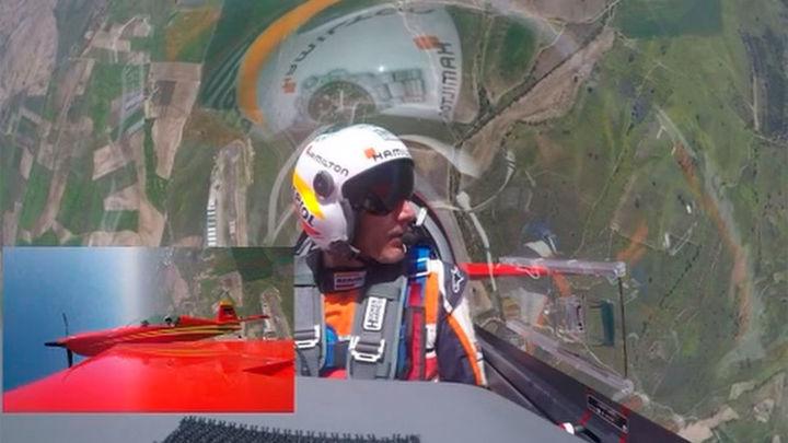 Así se entrenan los pilotos de la fórmula uno del aire