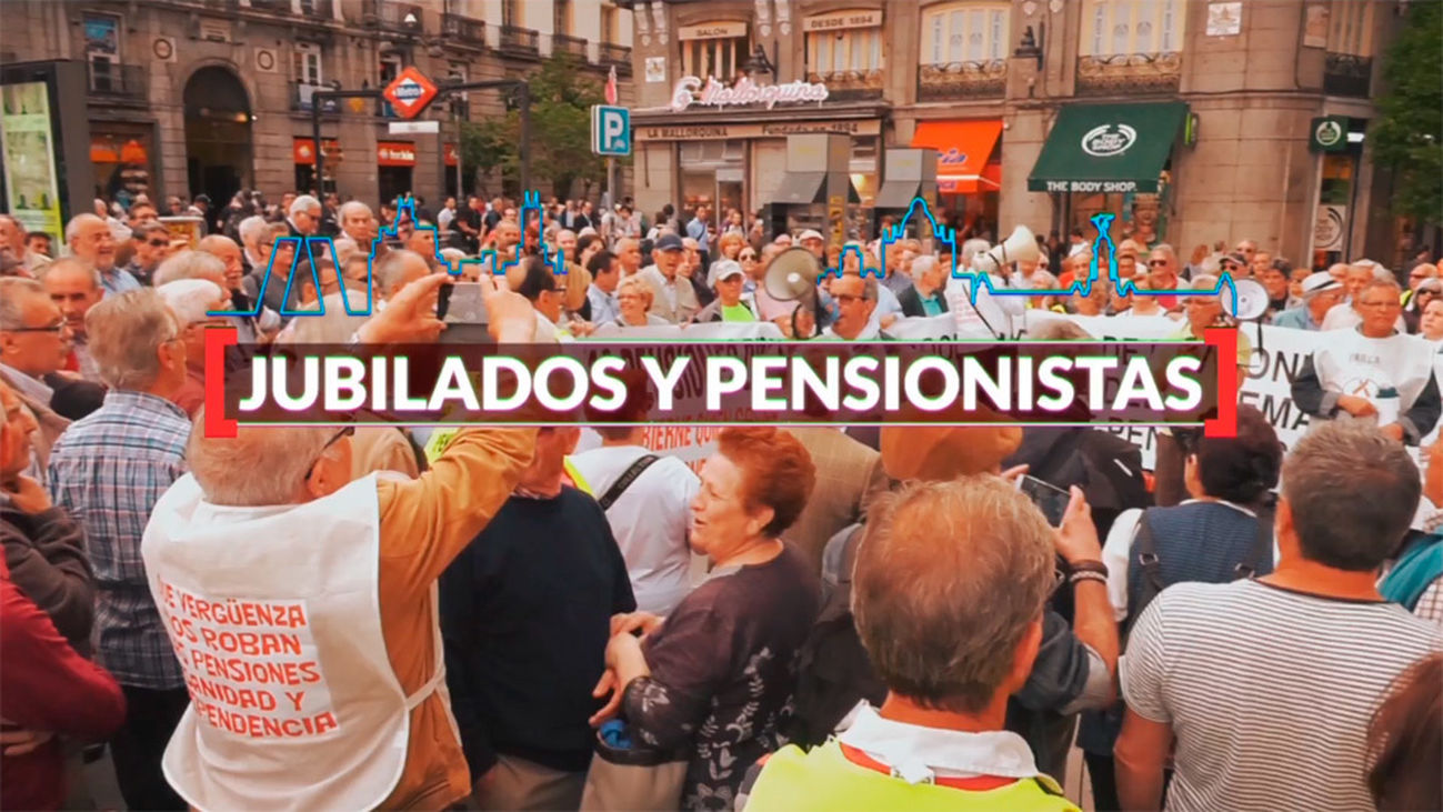 Madrid es cifra: Jubilados y pensionistas