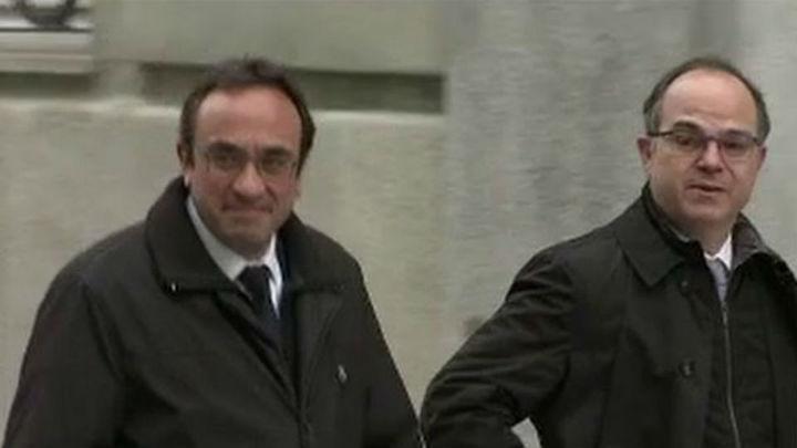Rull y Turull podrán salir de prisión unas horas para trabajar