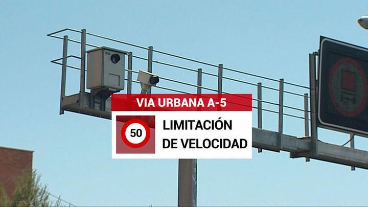 Carmena presenta la transformación de la A-5 en vía urbana con aceras, árboles y menos carriles