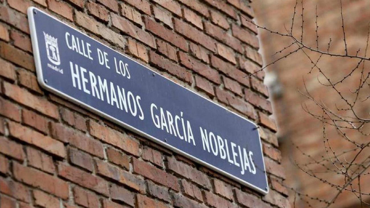 Calle de Hermanos García Noblejas en Madrid
