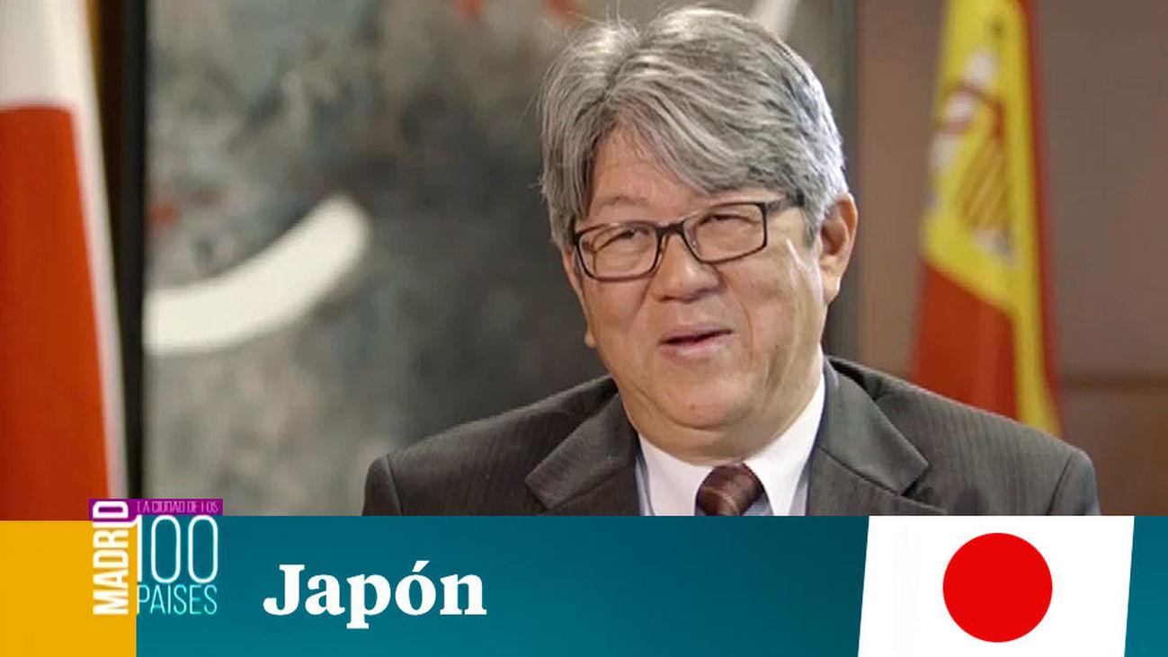 Madrid ciudad de 100 paises: Japón
