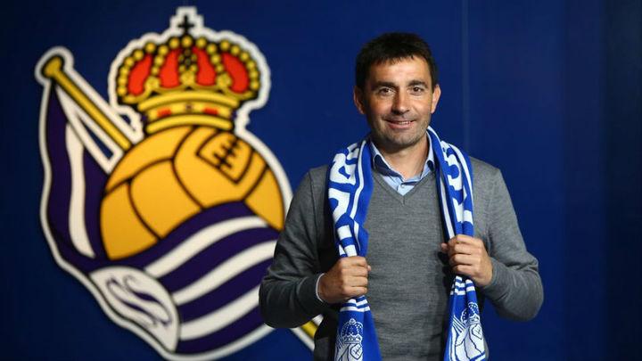 Garitano entrenará a la Real Sociedad las tres próximas temporadas
