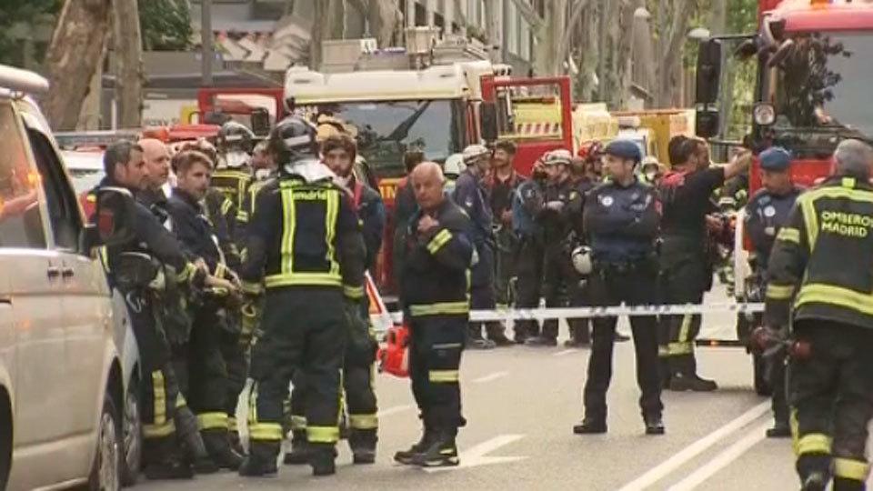Encuentran sin vida al segundo desaparecido en el derrumbe de Chamberí