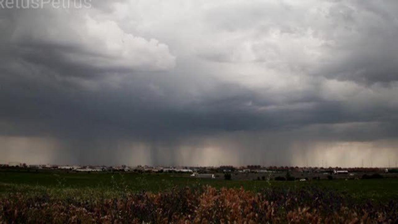 Las mejores fotos de las tormentas de Madrid