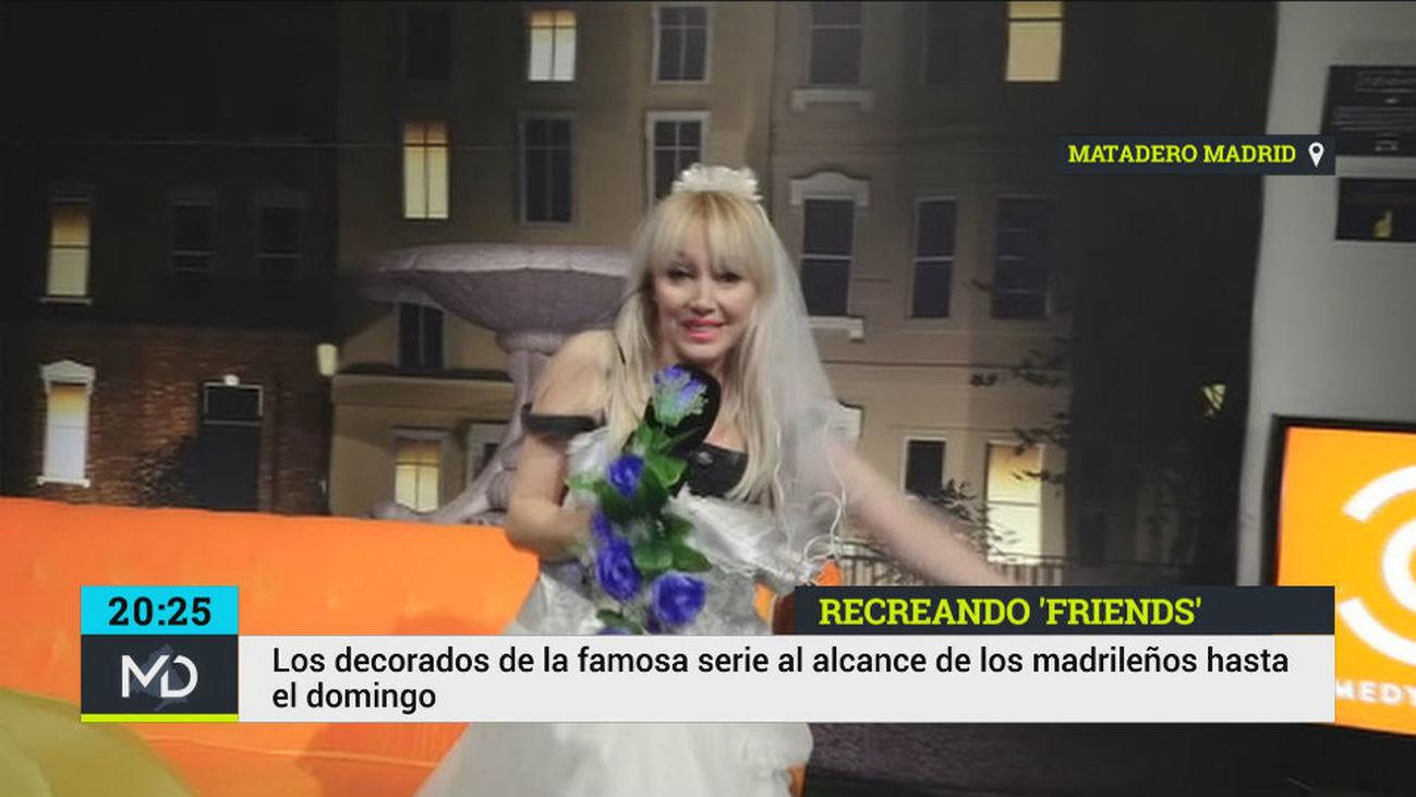 Madrid regresa a los 90 con la recreación de los escenarios de Friends