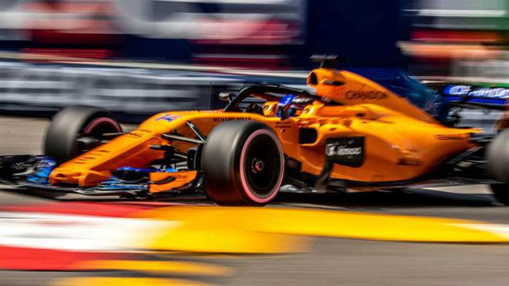 GP Mónaco: Alonso 7º, Sainz 8º y pole de Ricciardo